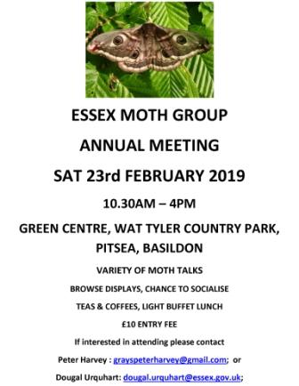 Essex Moth Group Annual Meeting
